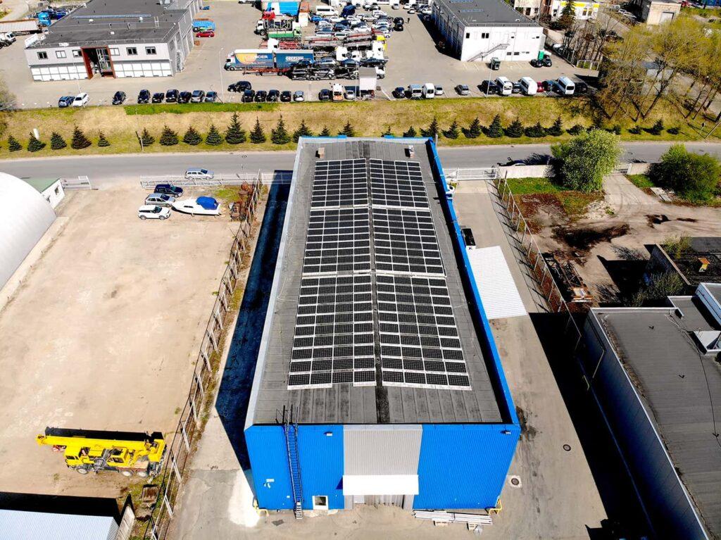 UAB Laivys saulės elektrinių projektas