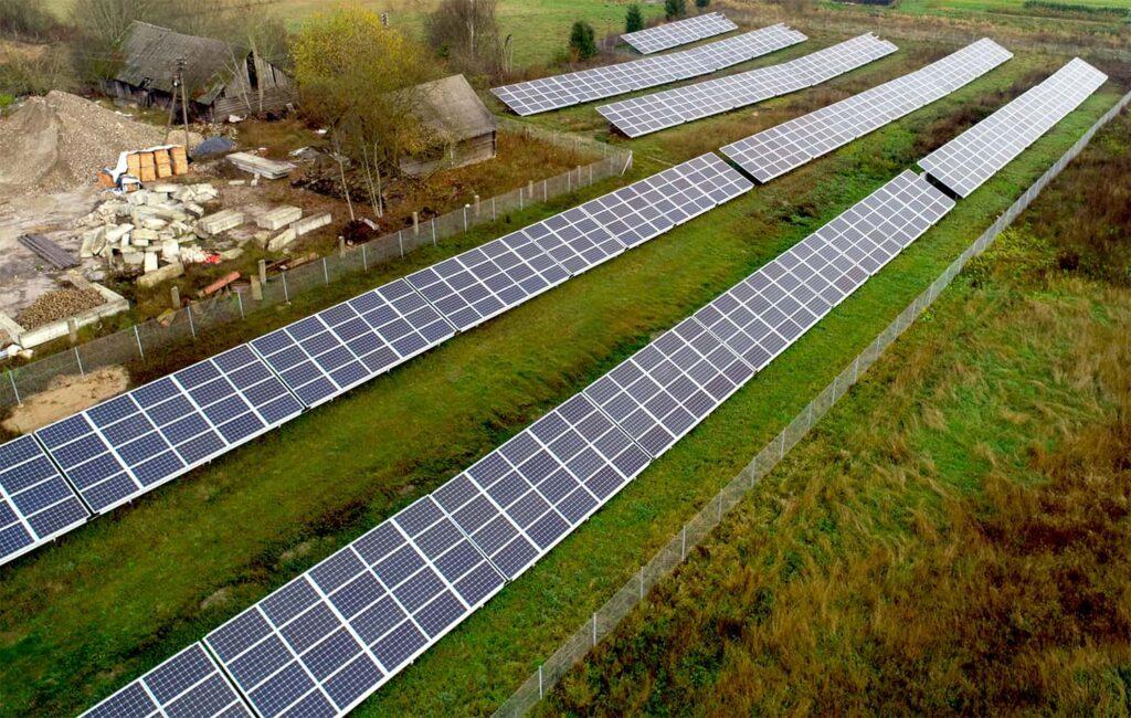 UAB Medarvitas saulės elektrinių projektas su Suntech saulės moduliais