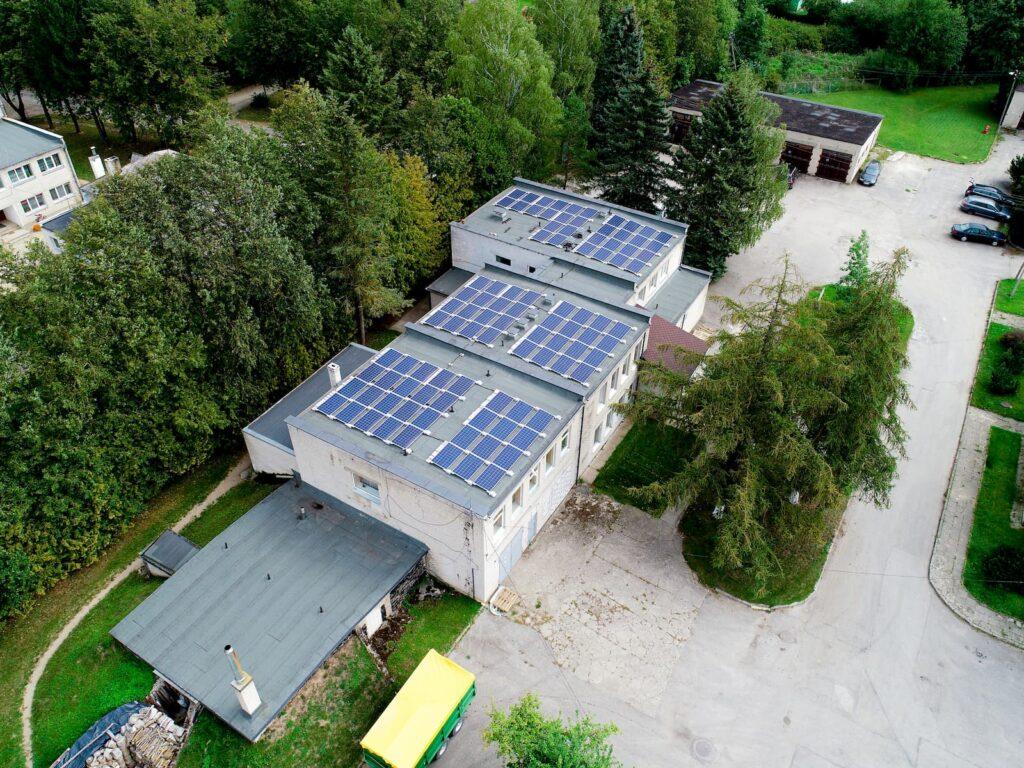 220kW galios saulės elektrinių projektas