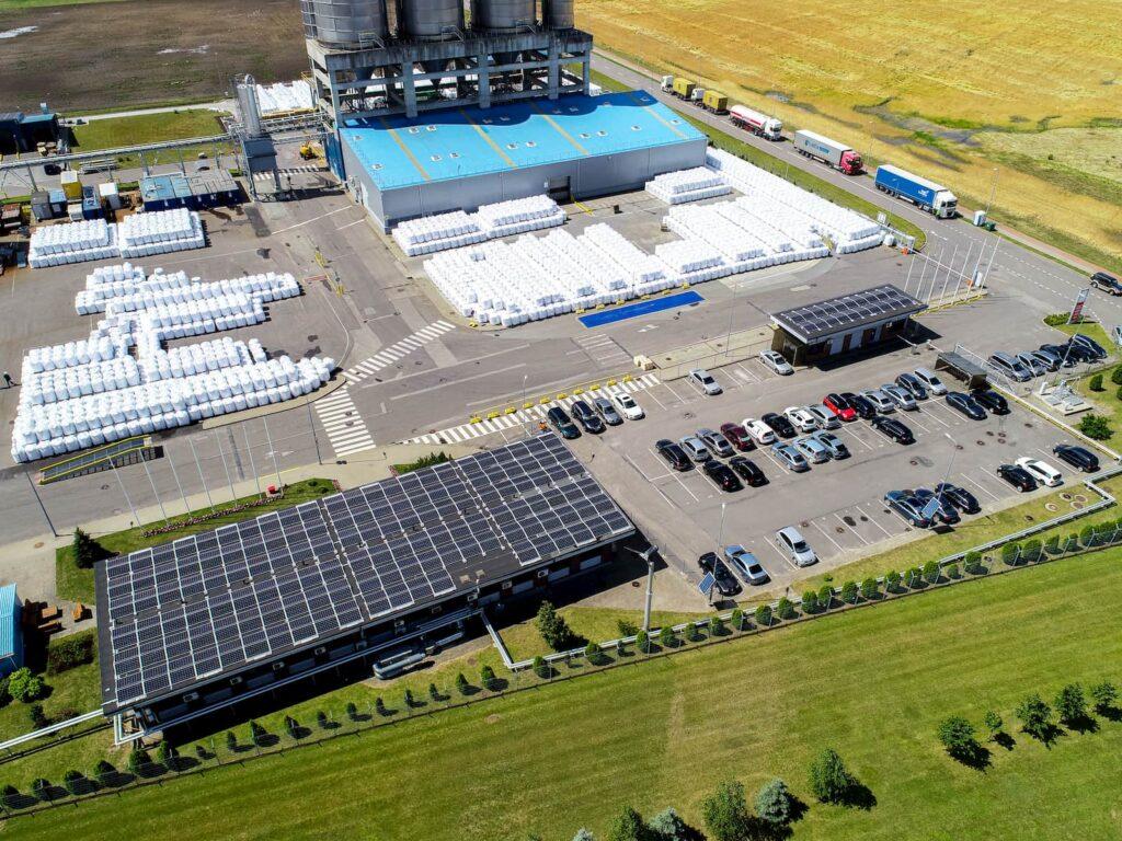 300kW skirtas projektas saulės elektrinių ant stogo