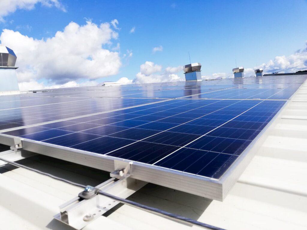 Sumontuotos saulės elektrinės