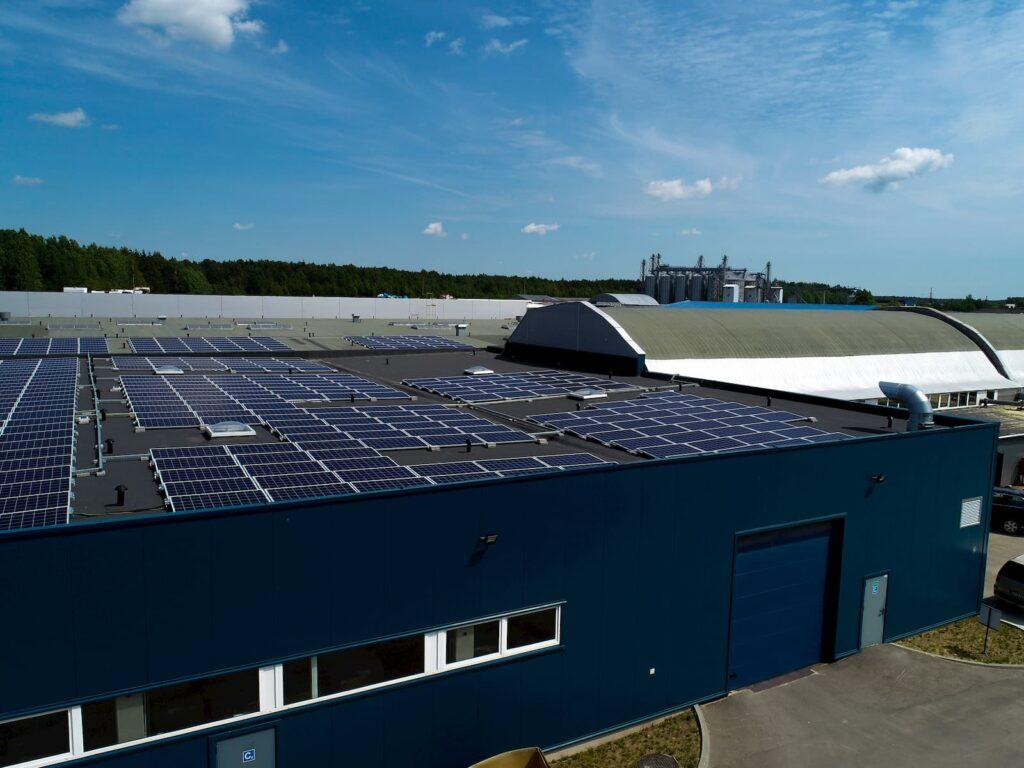 dviejų etapų saulės elektrinės