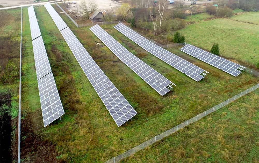 300kW galios projektas saulės elektrinių