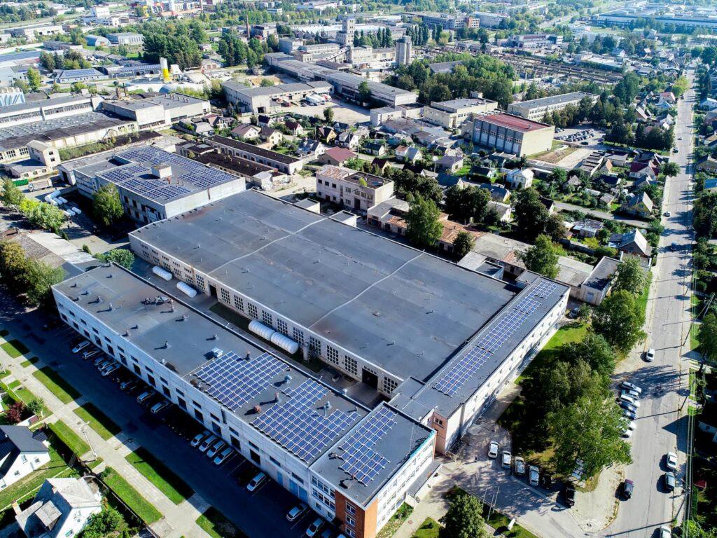 Eternia solar paruoštas projektas UAB Metalistas LT
