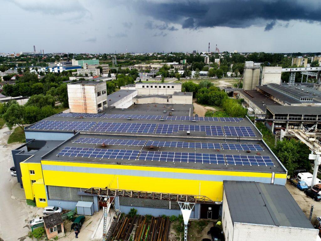 150kW saulės elektrinių projektas UAB Metalika LT